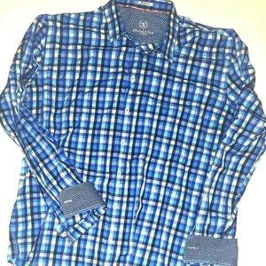 Bugatchi Uomo SHAPED FIT Button Down Shirt